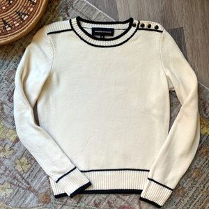 Vanessa Seward Merino Wool Cora Crew Neck Sweater